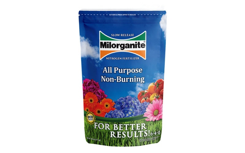 Milorganite 5 lb bag of fertilizer