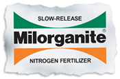 Milorganite Fertilizer Slow Release tear logo