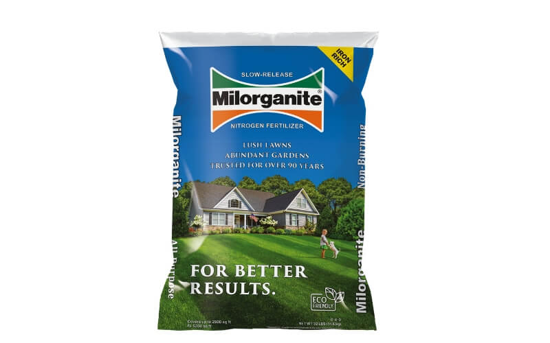 Milorganite 32lb bag of fertilizer