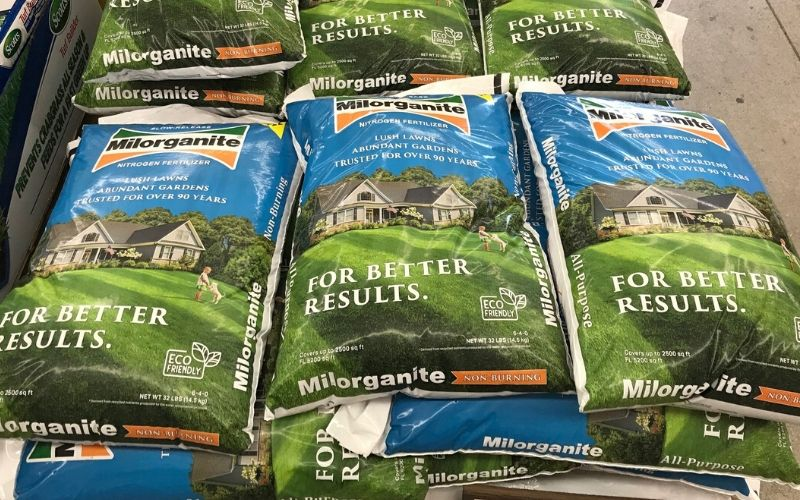 Milorganite product shortage and supply