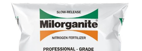 50 lb Professional Milorganite fertilizer bag