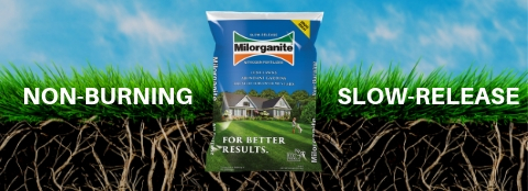 Milorganite 32 lb fertilizer