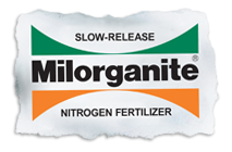 Milorganite - slow release nitrogen fertilizer